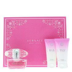 Versace Bright Crystal - EDT 50 ml + telové mlieko 50 ml + sprchový gél 50 ml