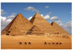 Dimex Fototapeta MS-5-0051 Egyptské pyramídy 375 x 250 cm