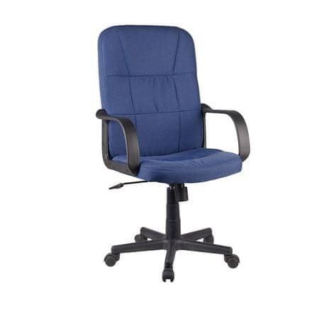 Kancelárske kreslo, modrá, TC3-7741 NEW