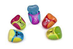 Y-Plus Strúhadlo plastové Owl 2 otvory mix farieb