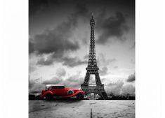 Dimex Fototapeta MS-3-0027 Retro auto v Paríži 225 x 250 cm