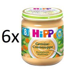 HiPP BIO Krémová polévka zeleninová 6x200g