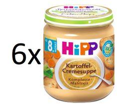 HiPP BIO Krémová polévka bramborová se zeleninou 6x200g