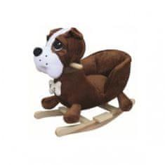 BabyGO Houpací křeslo - Pes