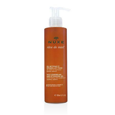 Nuxe Gyengéd tisztító gél Reve de Miel (arctisztító és a Make-Up eltávolítása Gel) 200 ml