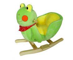 BabyGO Houpací křeslo - Žabička