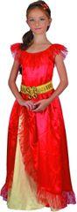 MaDe Červené šaty - princezná