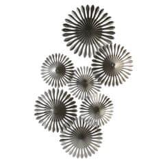 Papillon Nástěnná kovová dekorace Dandelion, 85 cm
