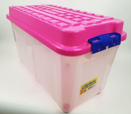 Heidrun Box Kubrik 100 l, růžová