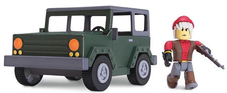 TM Toys Roblox Zestaw auto i figurka Apocalypse rising 4X4