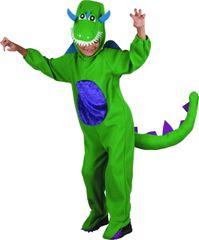 MaDe kostium dinozaura, M zielony