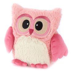 Albi termofor pluszowy Sowa, różowy