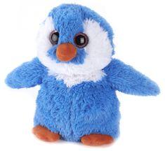 Albi termofor pluszowy Pingwin, niebieski