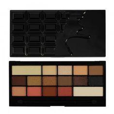 Makeup Revolution Cudowna paleta cieni do oczu grzesznej czekolady (I Heart Makeup Vice) Chocolate (I Heart Makeup Vic