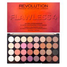 Makeup Revolution Paletka 32 očných tieňov Flawless 4 (Eyeshadow Palette) 20 g