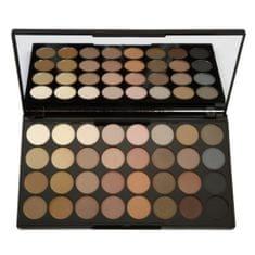 Makeup Revolution Paletka 32 očných tieňov Flawless Matte (Eyeshadow Palette) 16 g