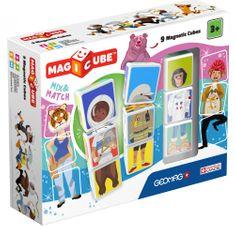 Geomag zestaw Magicube - Mix & match 9 szt.