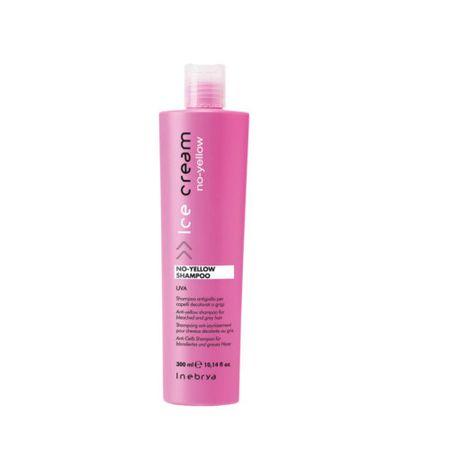 Inebrya Šampon pro melírované a šedivé vlasy Ice Cream (No Yellow Shampoo) (Objem 300 ml)