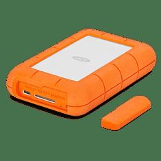 LaCie zunanji prenosni disk Rugged RAID PRO 4 TB, USB-C in SD čitalec