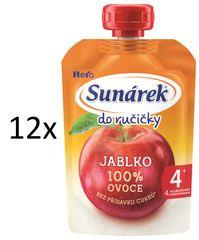 Sunárek 12x Do ručičky-jablko - 100g