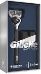 Gillette Fusion5 ProShield Chill Dárkové Balení Se Strojkem + Stojan