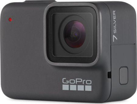 GoPro športna kamera HERO7 Silver (CHDHC-601-RW)