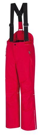 Hannah otroške smučarske hlače Amidala JR II Jazzy, rdeče, 140