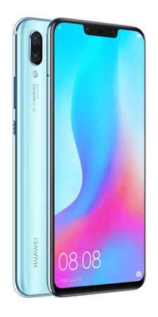 Huawei smartfon Nova 3, 4GB/128GB, Airy blue