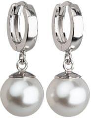 Evolution Group Ezüst fülbevaló gyönggyel31151.1 fehér ezüst 925/1000