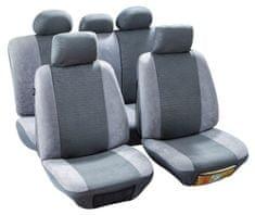 MAMMOOTH Potahy na přední sedadla Quito, materiál: polyester, barva: světle šedá