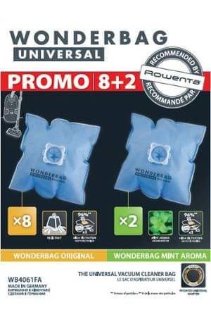 Rowenta worki do odkurzacza WB4061FA Wonderbag Original x8 + Wonderbag Mint Aroma x2
