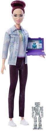 Mattel Barbie Inżynier fioletowe włosy