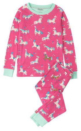 Hatley dívčí pyžamo 92 ružová