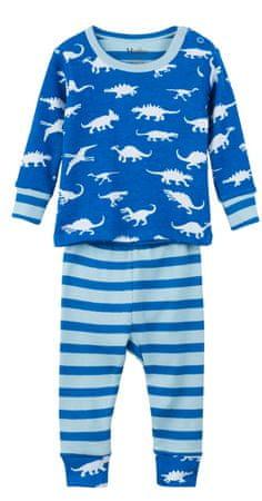 Hatley fantovska pižama, 68, modra