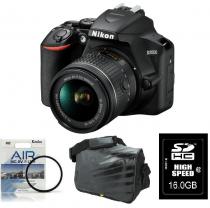 Nikon DSLR fotoaparat D3500 + AF-P 18-55VR + Fatbox 16GB + UV filter