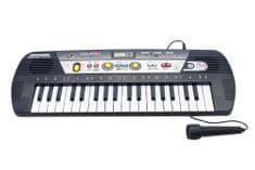 Unikatoy piano z mikrofonom MQ BAT.ŠK. 25033, 37 tipk