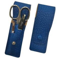 DuKaS Cestovná manikúrová súprava 3 dielna modrá PL891