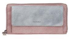 Lagen Női bőr pénztárca 786-017 Szilva/Silver