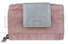 Lagen Dámska kožená peňaženka 931 Plum/Silver