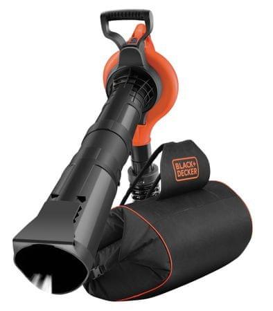 Black+Decker Elektromos kerti lombszívó/lombfújó/aprító 3 az 1-ben