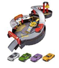 Alltoys Teamsterz skladacia garáž s autíčkami