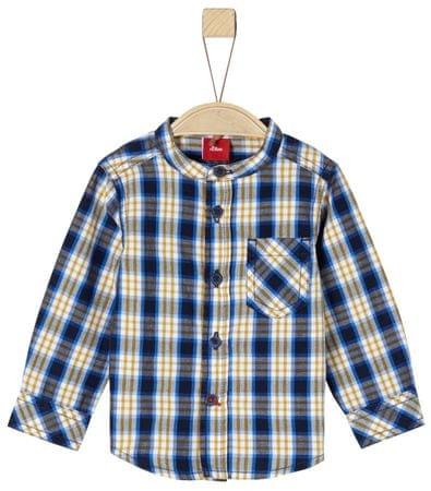 s.Oliver Chlapecká košile 74 žltá/modrá