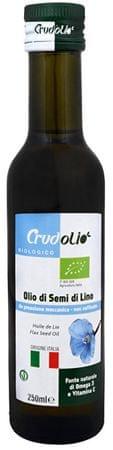 Country Life Bio Olej ľanový 250 ml