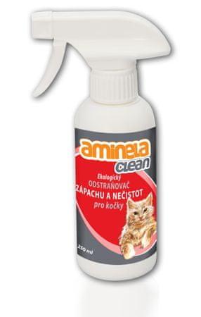 Aminela Ekologiczne usuwanie zapachów dla kotów 250 ml