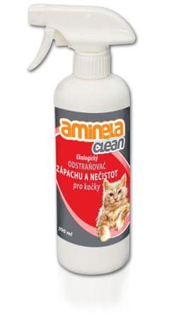 Aminela Ekologiczne usuwanie zapachów dla kotów 500 ml