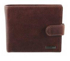 Storm Męska skóra portfel skórzany portfel Yukon Brown STABY111