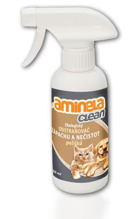 Aminela Környezetbarát szageltávolító állat fekvőhelyre 250 ml