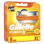 3 - Gillette Fusion Power náhradné hlavice 8 ks