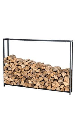 BHM Germany Stojan na drevo Skog, 125x195 cm, matná čierna