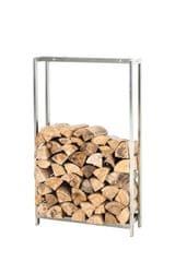 BHM Germany Stojan na drevo Skog, 150x95 cm, nerez